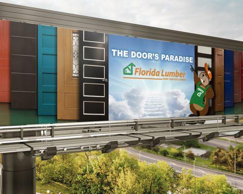 Florida Lumber Billboard